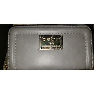 Bebe Natalie Zip Around Wallet